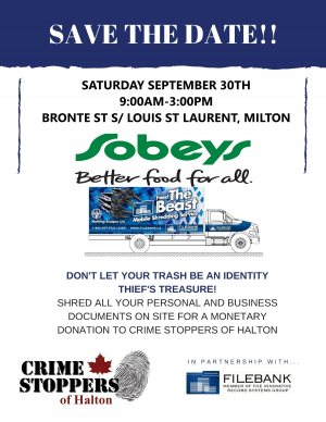 Milton Fall Shred Event
